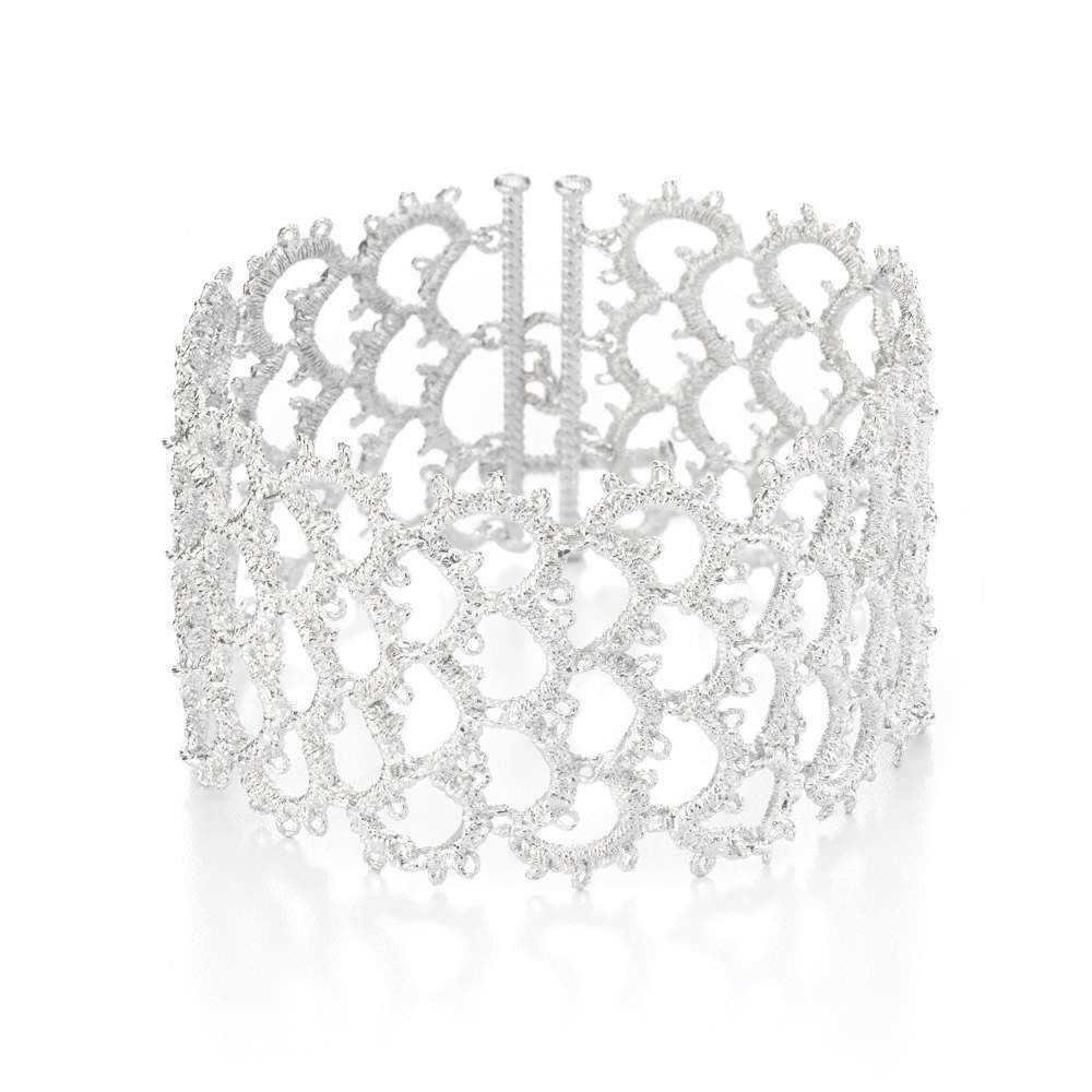 Brautschmuck armband silber  Armband