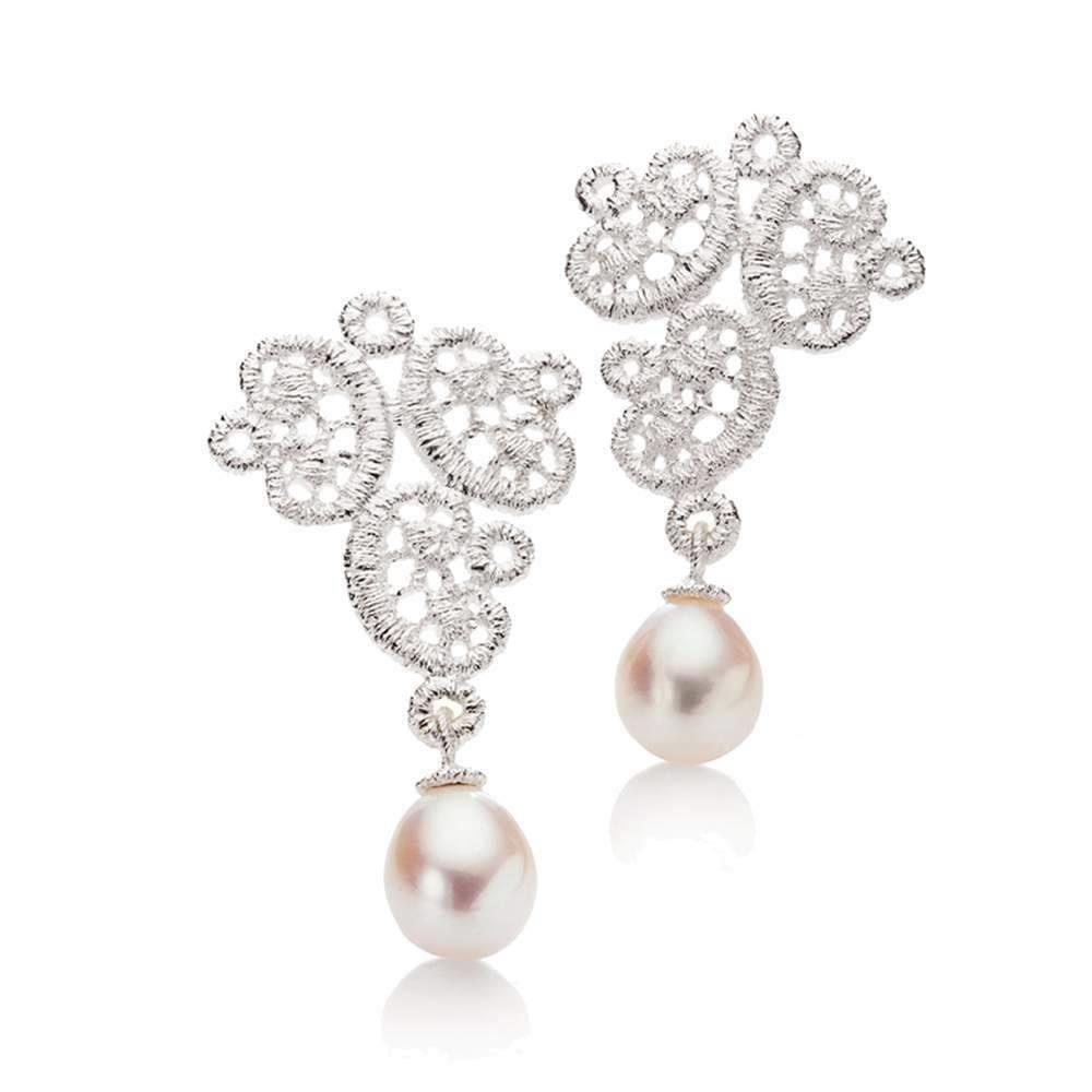 Brautschmuck ohrringe perlen  Ohrringe